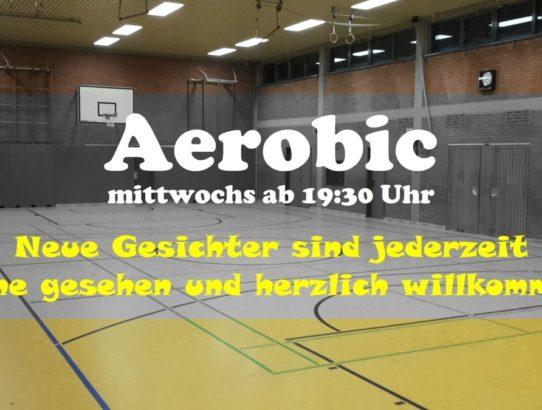 AEROBIC | Neue Mitglieder gerne gesehen
